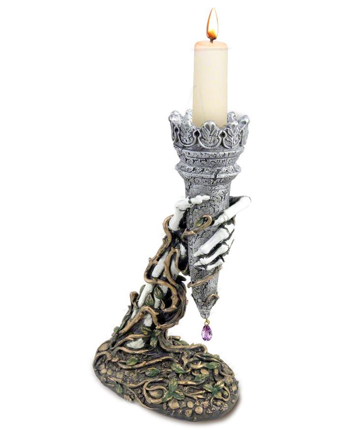 Light of Asrael Gothic Candle Holder  GarbGeek.com