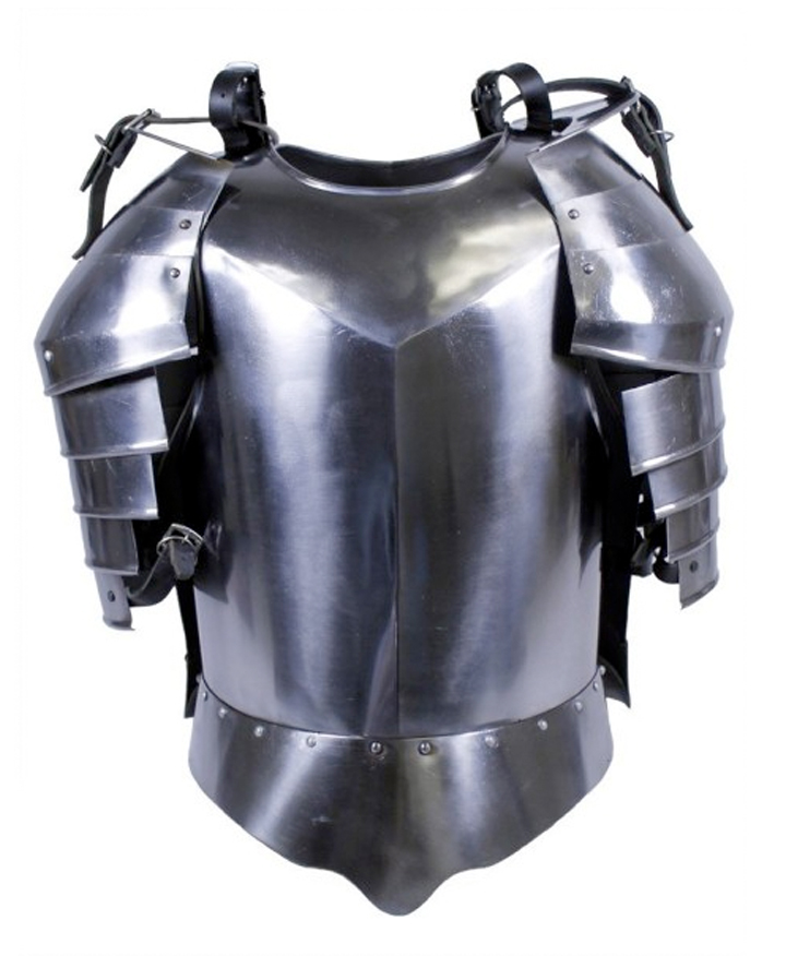Metal Rings On Leather Armor