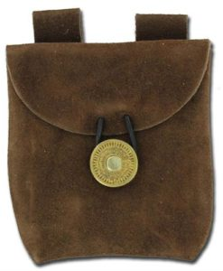 Medieval_Renaissance_Leather_Brown_Suede_Pouch