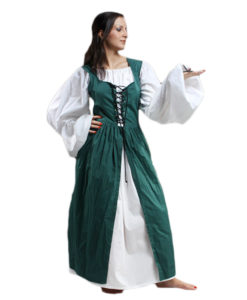 Front_Lace_Peasant_dress_Green